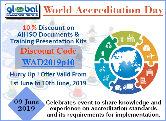 World Accreditation Day - 2019
